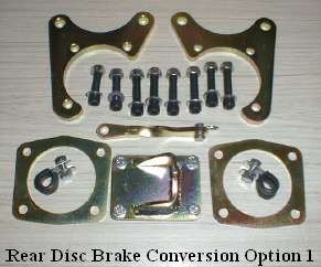 Anglia 105E & 123E. rear disc brake conversion